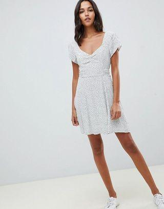 Abercrombie and Fitch sweetheart polka dot dress
