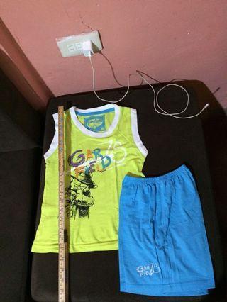 Garfield T-shirt and Short Terno