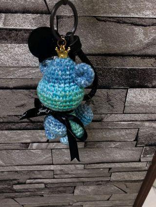 皮繩手工編織熊