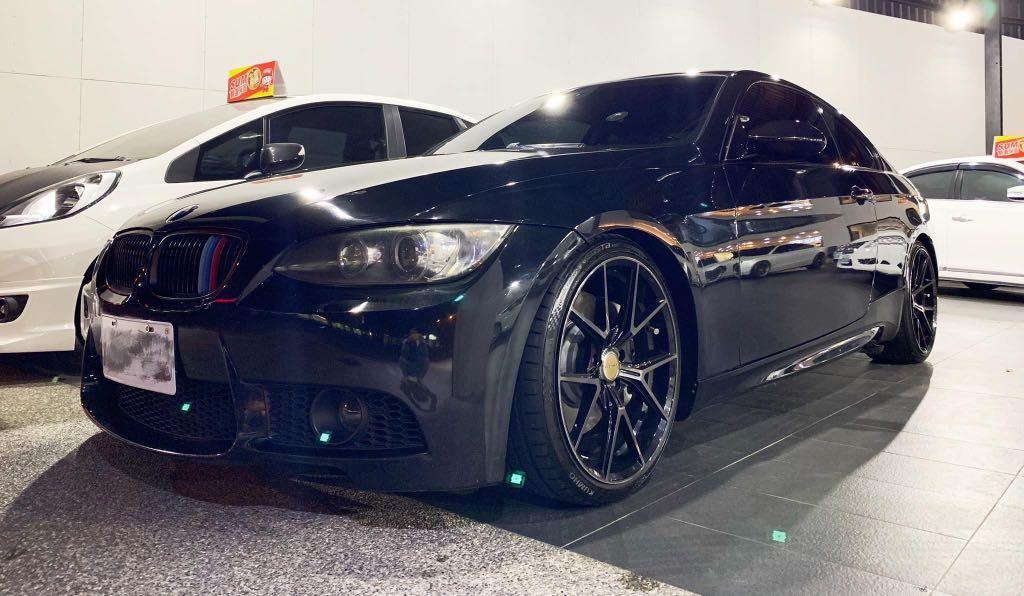 2009 BMW 3 Series Coupe 335i 黑
