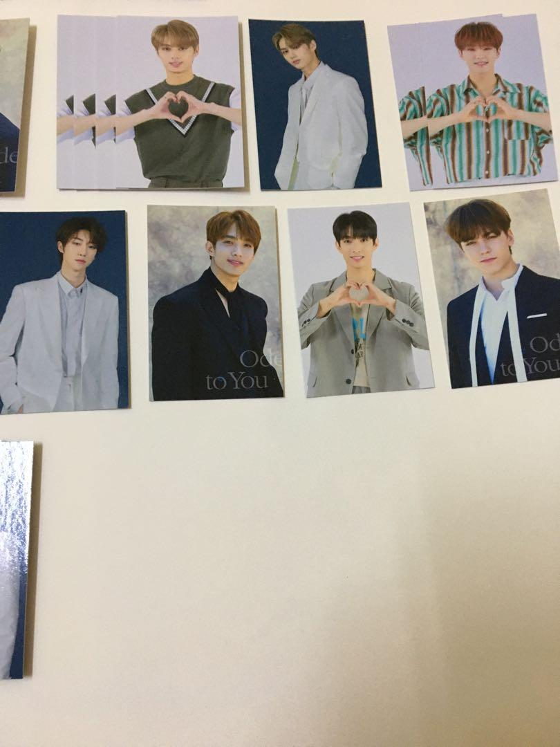 [3 for RM5] CLEARANCE SEVENTEEN Ode to you trading cards