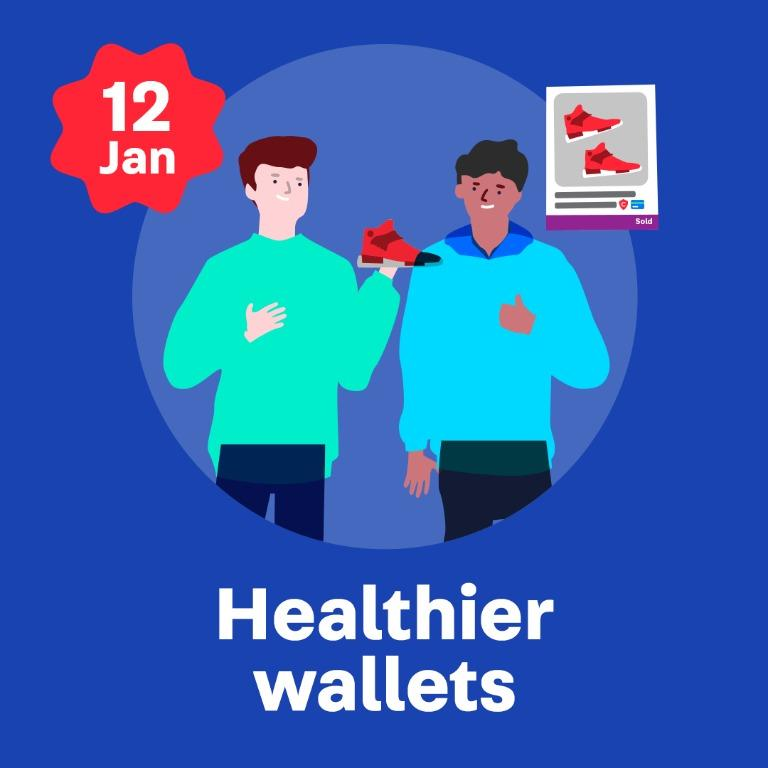 5. Healthier Wallets (2020 New Year Resolutions)