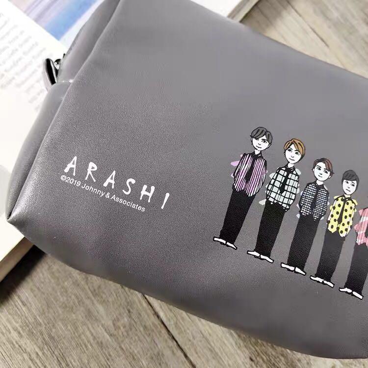 ARASHI pouch 2019 嵐 化妝袋 演唱會週邊