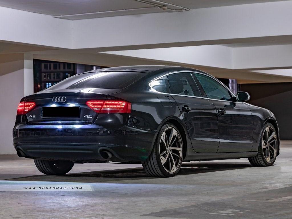 Audi A5 Sportback 2.0 TFSI quattro S tronic 5-Dr (A)