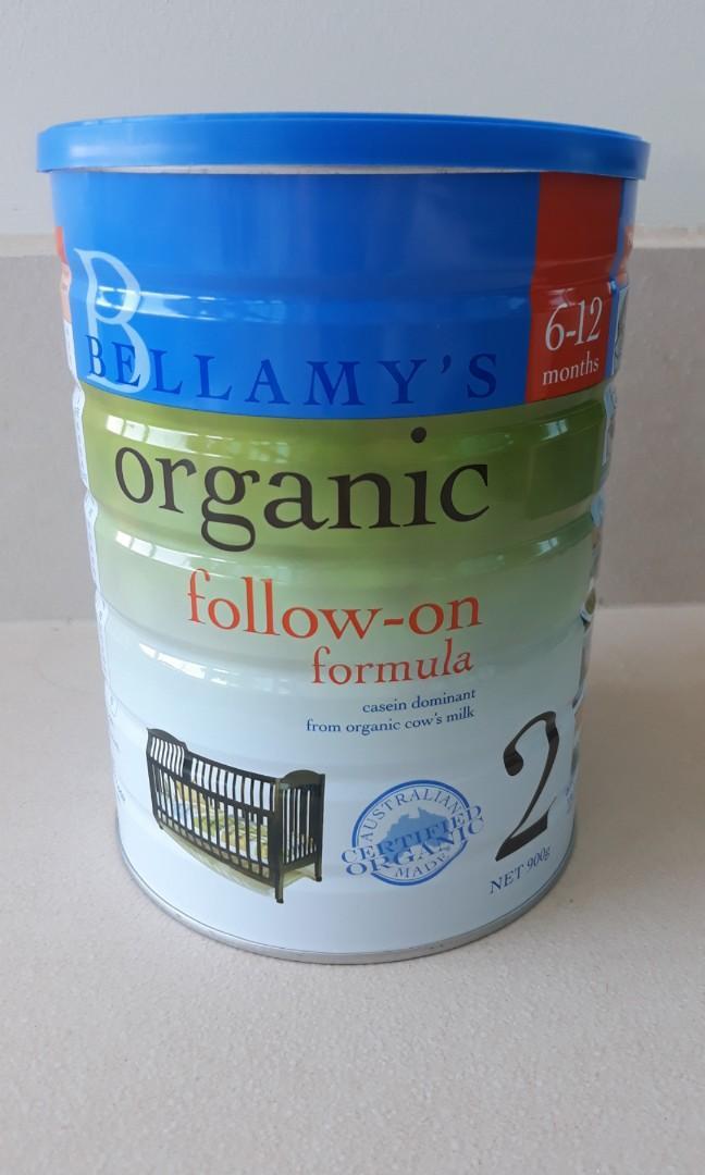 Bellamy's Organic Step 2 Follow On Formula 6-12 Months