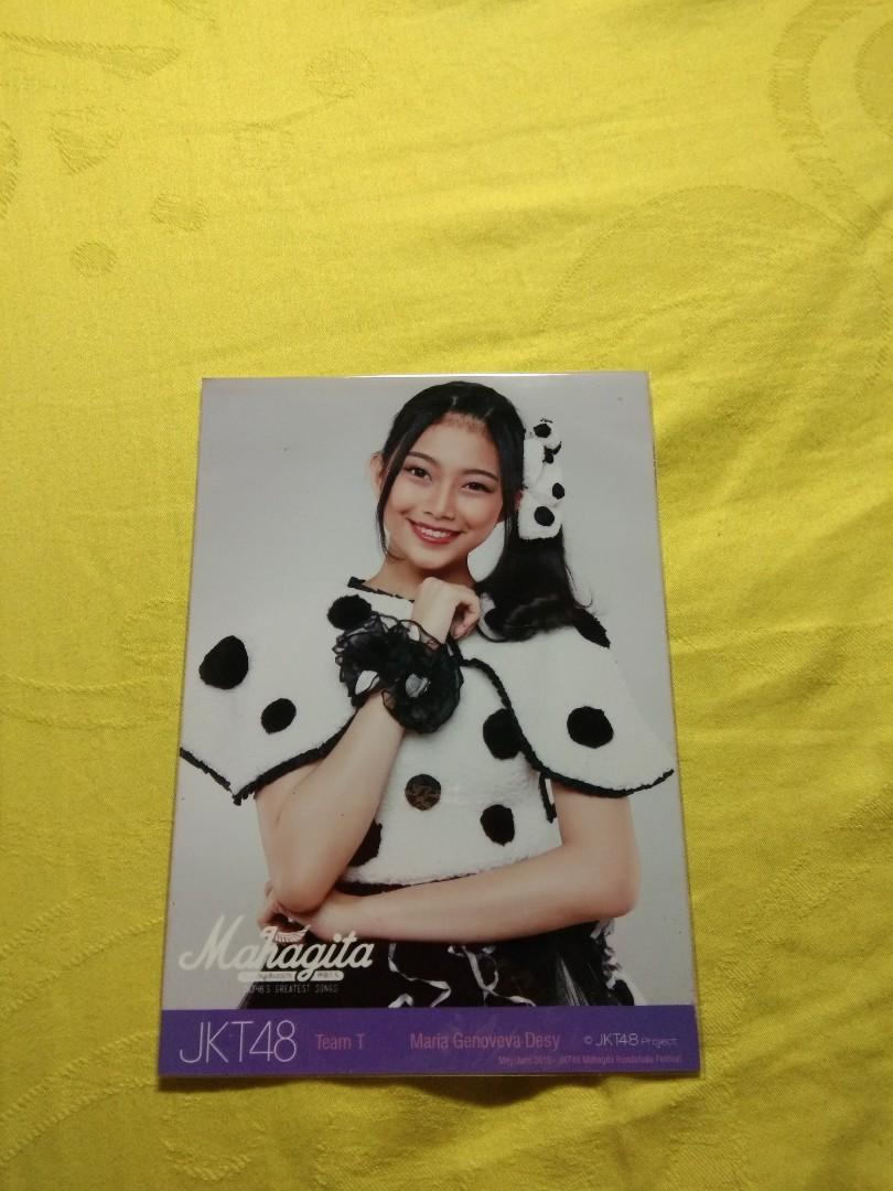 "Photopack JKT48 ""Maria Genoveva Natalia Desy Purnamasari Gunawan"""