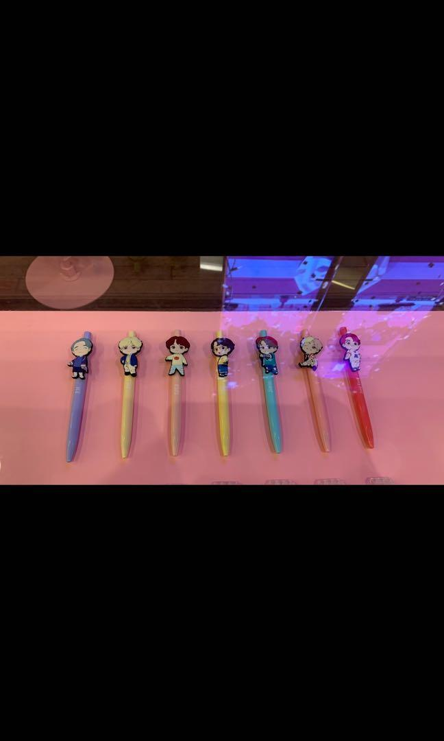 BTS Limited Edition Character Gel Pen IDOL (House of BTS, Seoul)
