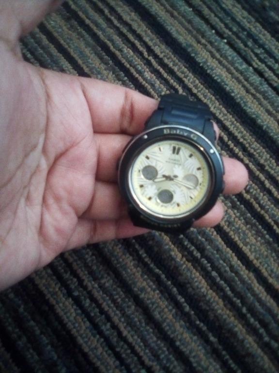 Casio Baby-G Standard Analog-Digital Watch BGA-150F-1A - Black Casio Baby-G Standard Analog-Digital Watch BGA-150F-1A - Black