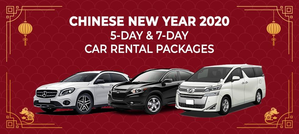 [CNY 2020] Car Rental - Early Booking Discount