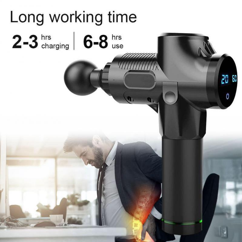 Electric Muscle Massager Gun 3300r/min Therapy Machine