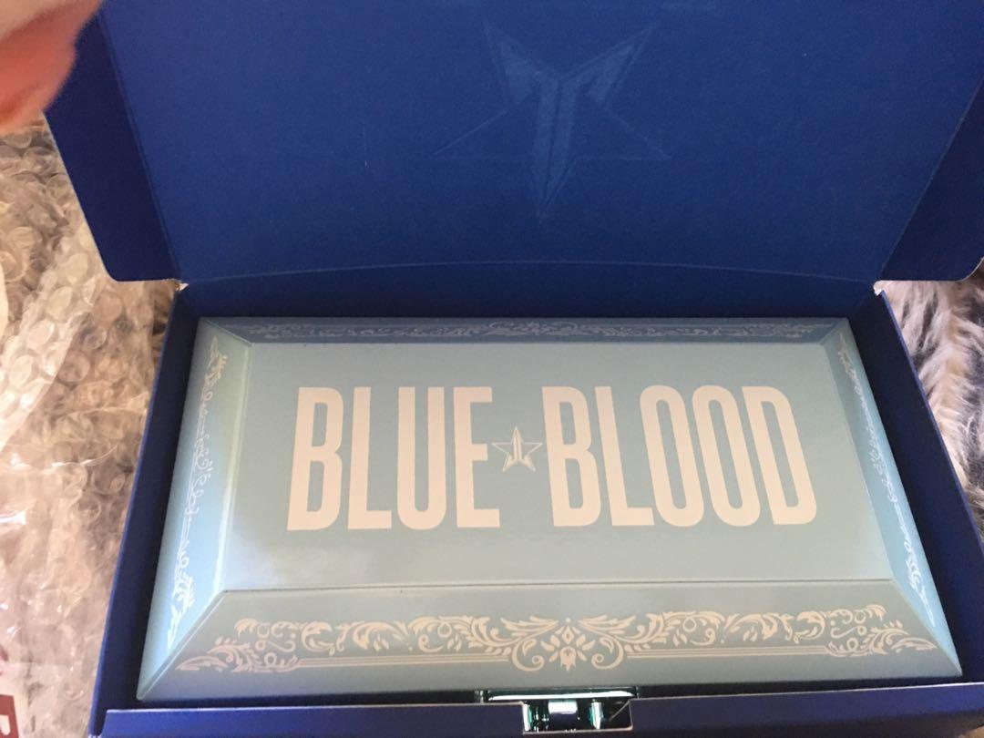 Jeffree Star Cosmetics Blue Blood Palette BRAND NEW