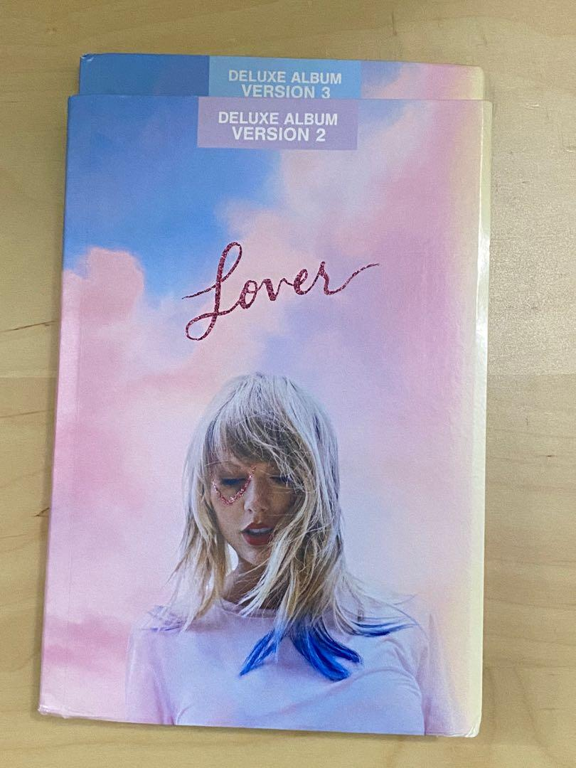 Taylor Swift Lover Deluxe Version 2&3  with CD & Posters