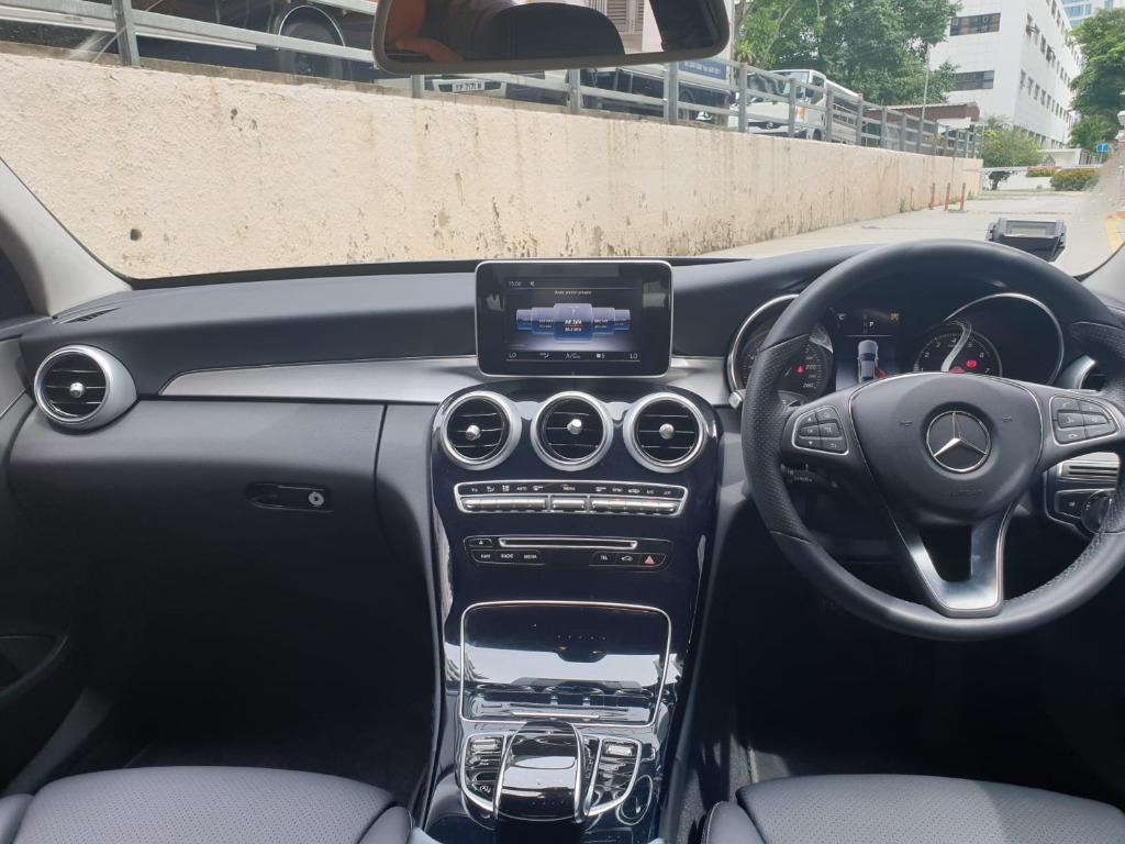 Mercedes-Benz C180 9G AVANTGADE C180 9G AVANTGADE Auto