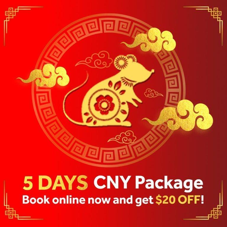 Motorway Car Rentals CNY Promotion