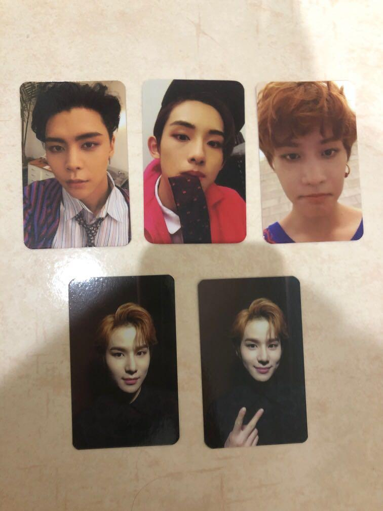 [CLEARANCE] NCT Regular Irregular Cherry Bomb Unofficial Photocards Photocard PCs