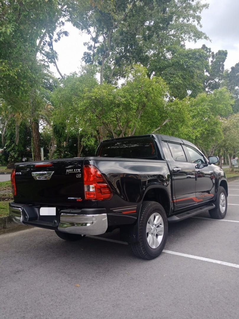 New Toyota Hilux 2.4 (A) 4x4 Truck Pickup Sewa Selangor KL