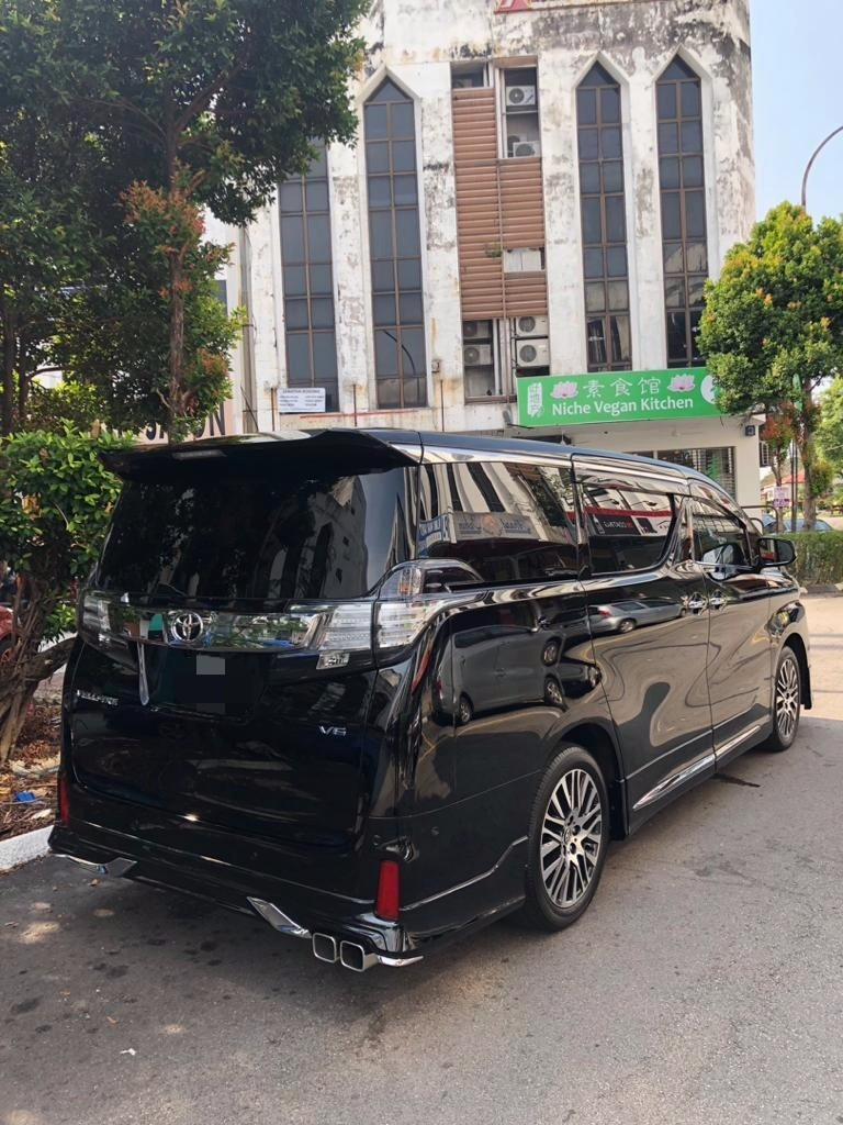 New Toyota Vellfire ZAG 3.5(A) Full Spec Kereta Sewa MPV Mewah Selangor KL