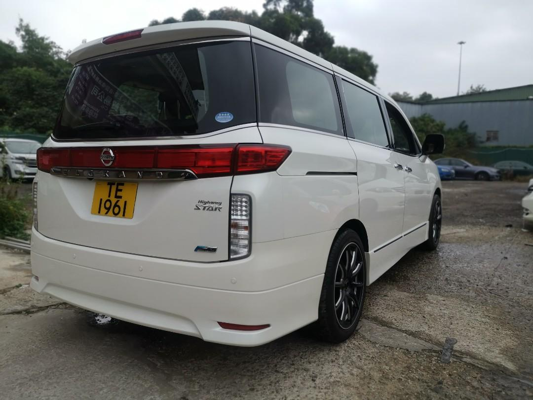 Nissan Elgrand 350 Highway Star 7-Seater S/R Auto
