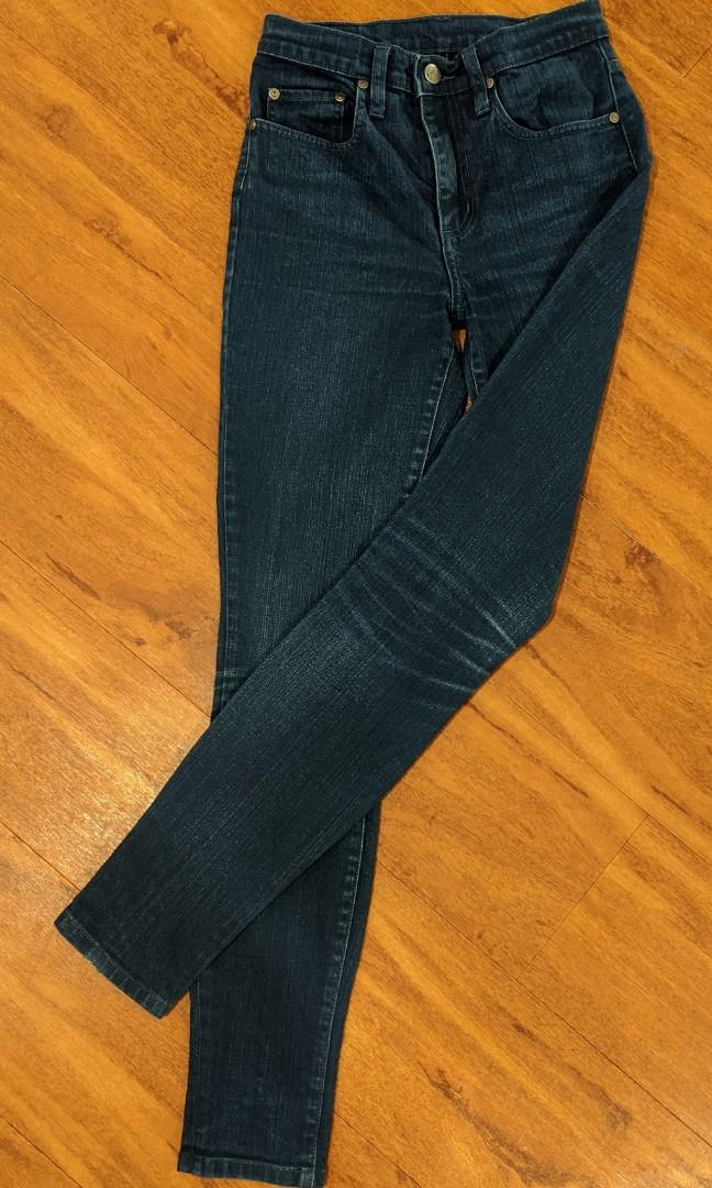 Nobody jeans cult high rise skinny leg. Size 24 - new condition