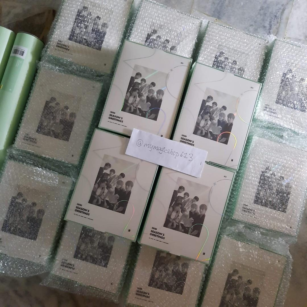 <NOTICE> BTS 2020 SEASON'S GREETINGS HAVE ARRIVED!