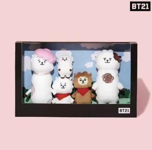 Official BT21 RJ Family Doll Set (Limited Edition)