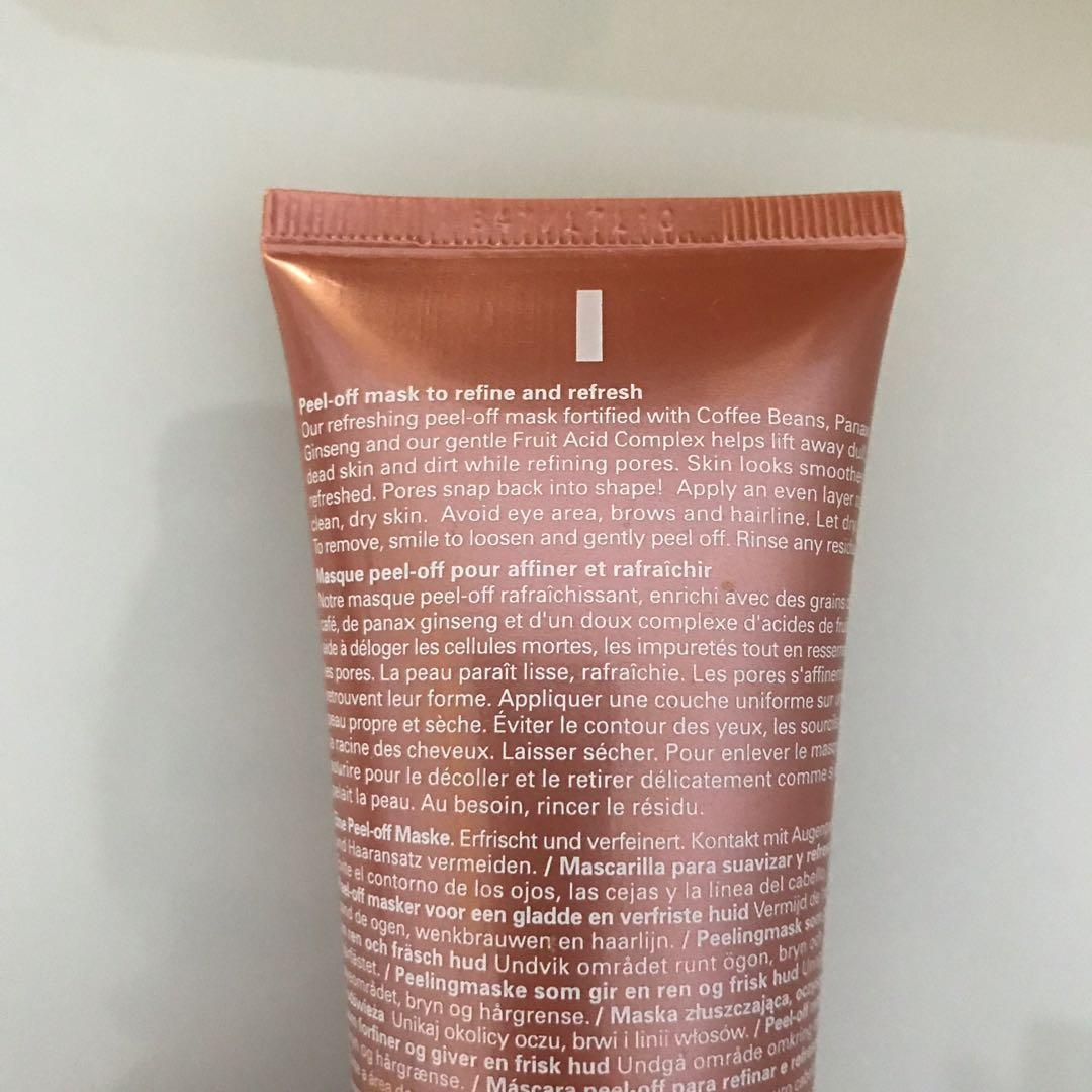 *REDUCED* ORIGINS GinZing Peel Off Rose Gold Mask (Limited Edition)