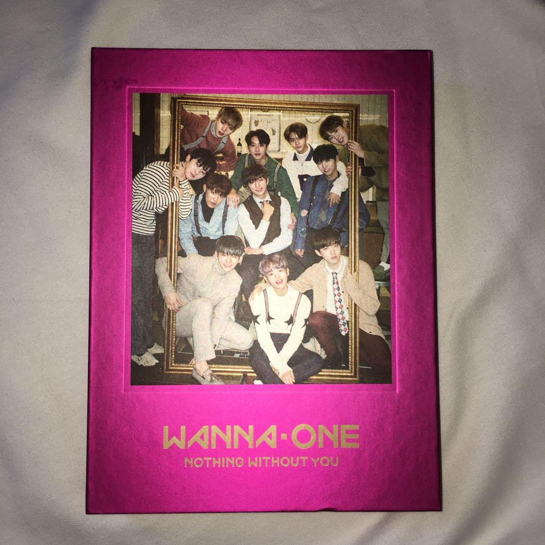PRELOVED WANNAONE ALBUM - NOTHING WITHOUT YOU #bonusgopay