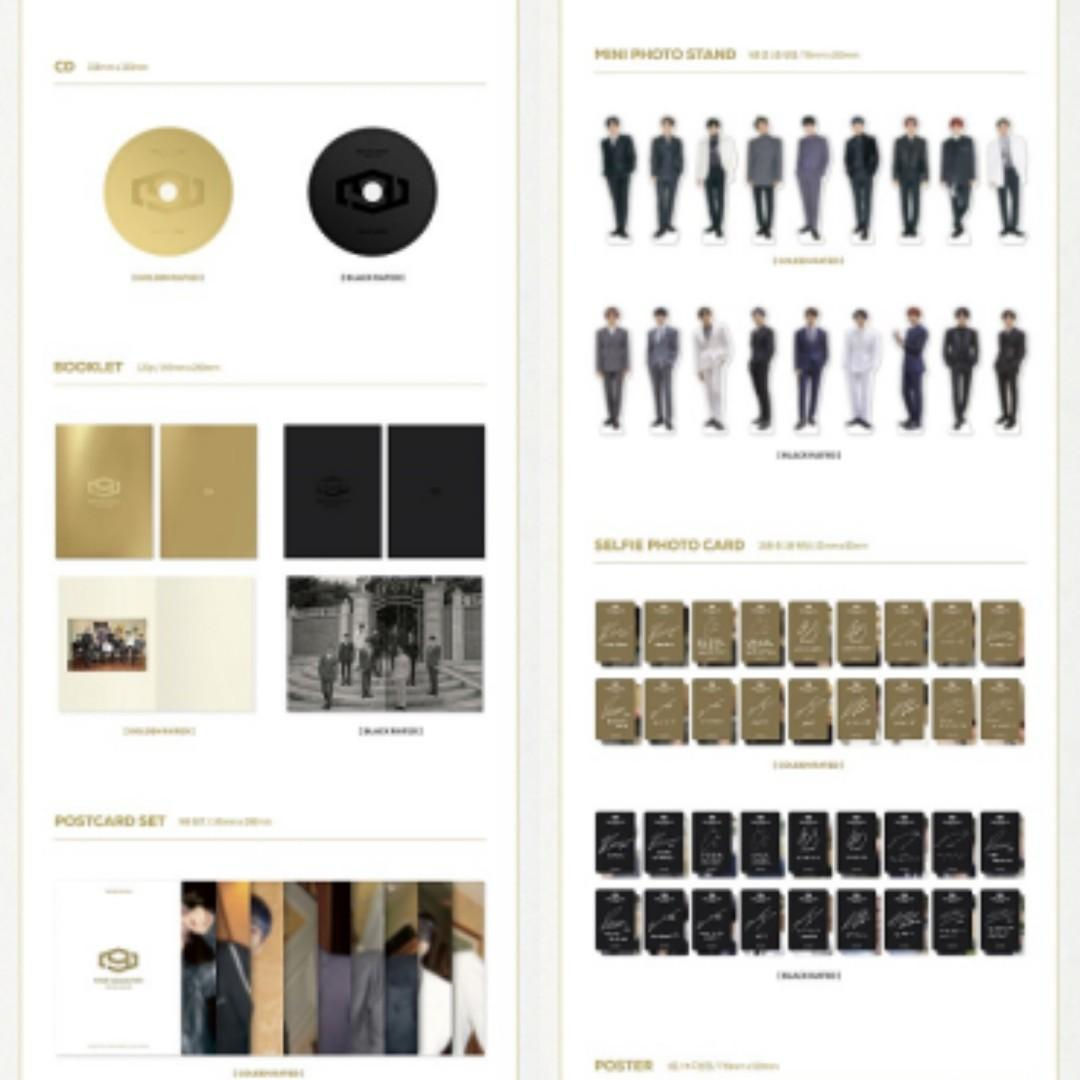 (PRE-ORDER:SEALED) SF9(에스에프나인) - 1집 FIRST COLLECTION [버전랜덤]