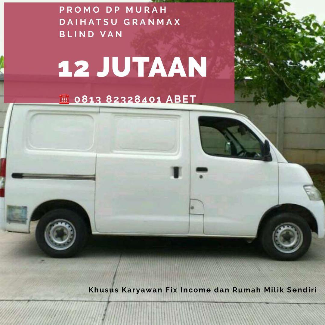 PROMO AWAL TAHUN Daihatsu Granmax Blind Van DP mulai 12 jutaan