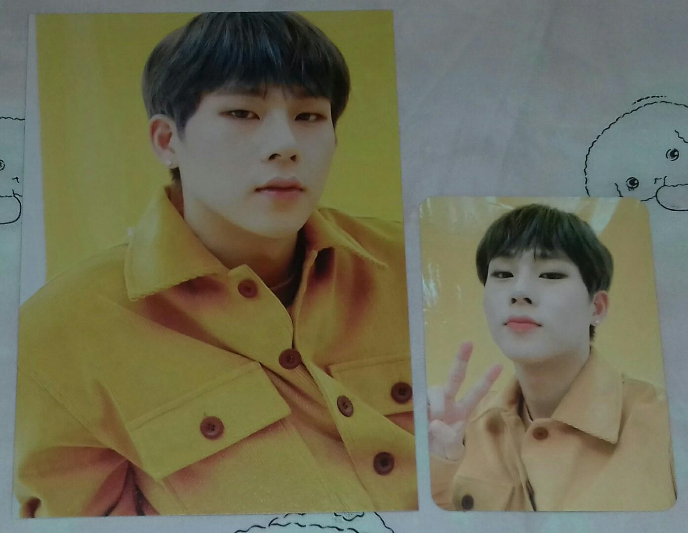 [❌SOLD❌] 2020 MONSTA X SEASON'S GREETINGS EVERY 'MON'TH JOOHONEY (JOOHEON) CARDS SET