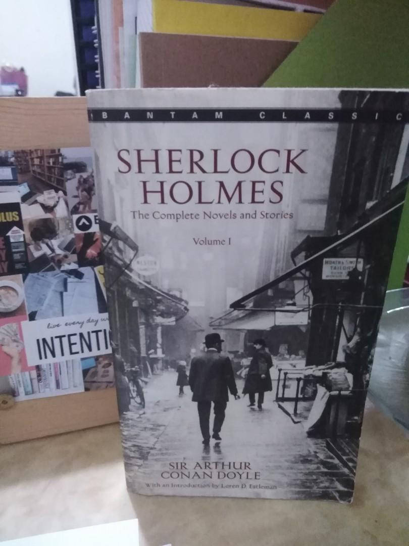 sherlock holmes: the complete novels and stories volume 1 by sir arthur conan doyle