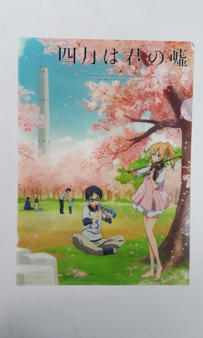 Shigatsu Wa Kimi No Uso anime file (Kaori & Arima)