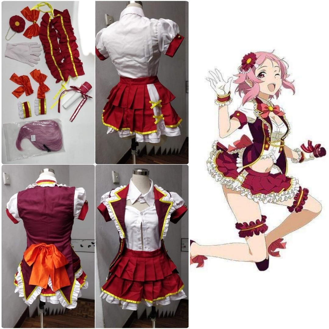 [Sell / Rent] Sword Art Online SAO Lisbeth Idol Full set Cosplay Costume