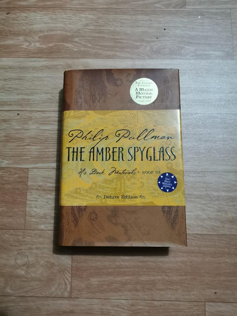 THE AMBER SPYGLASS by Philip Pullman FREE delivery for Metro Manila