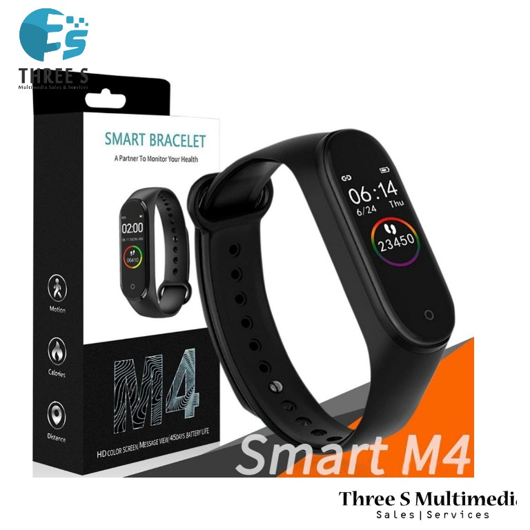 The New M4 Smart Watch Smart Band Waterproof Fitness Tracker VS Smart Bracelet Blood Pressure Heart