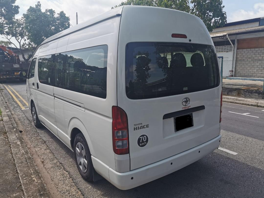 "Toyota Hiace Commuter 3.0A High Roof 14 Seater (Click ""read more"" for more details)"