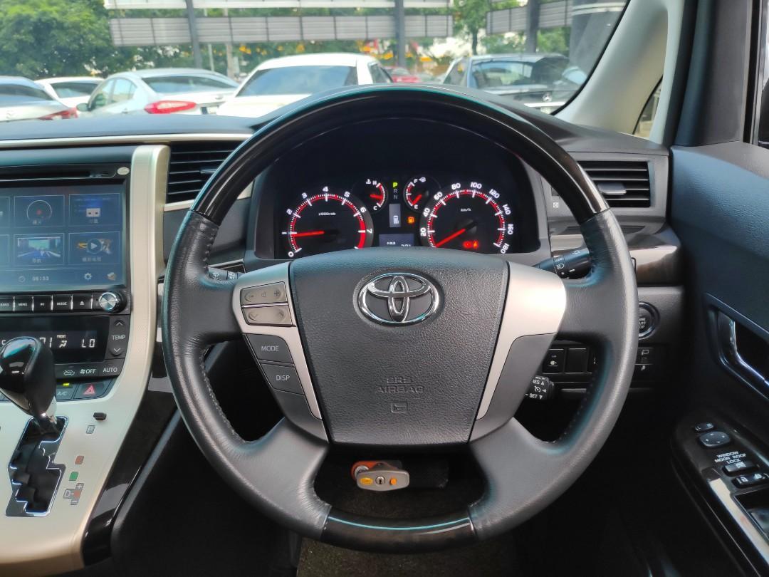 Toyota Vellfire 2.4 Z Golden Eye Sunroof Moonroof OTR price