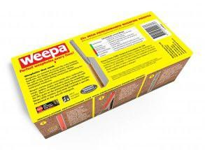 Weepa High Performance Bushfire Weep Hole Vent - 25 Pack