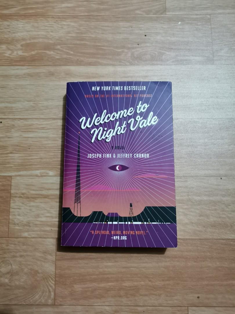 WELCOME TO NIGHT VALE by Joseph Fink & Jeffrey Cranor FREE delivery for Metro Manila