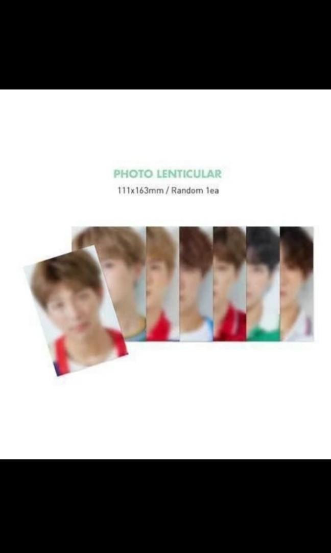 WTB RM NAMJOON BTS SEASON GREETINGS 2020 LENTICULAR CARD /PHOTOCARD