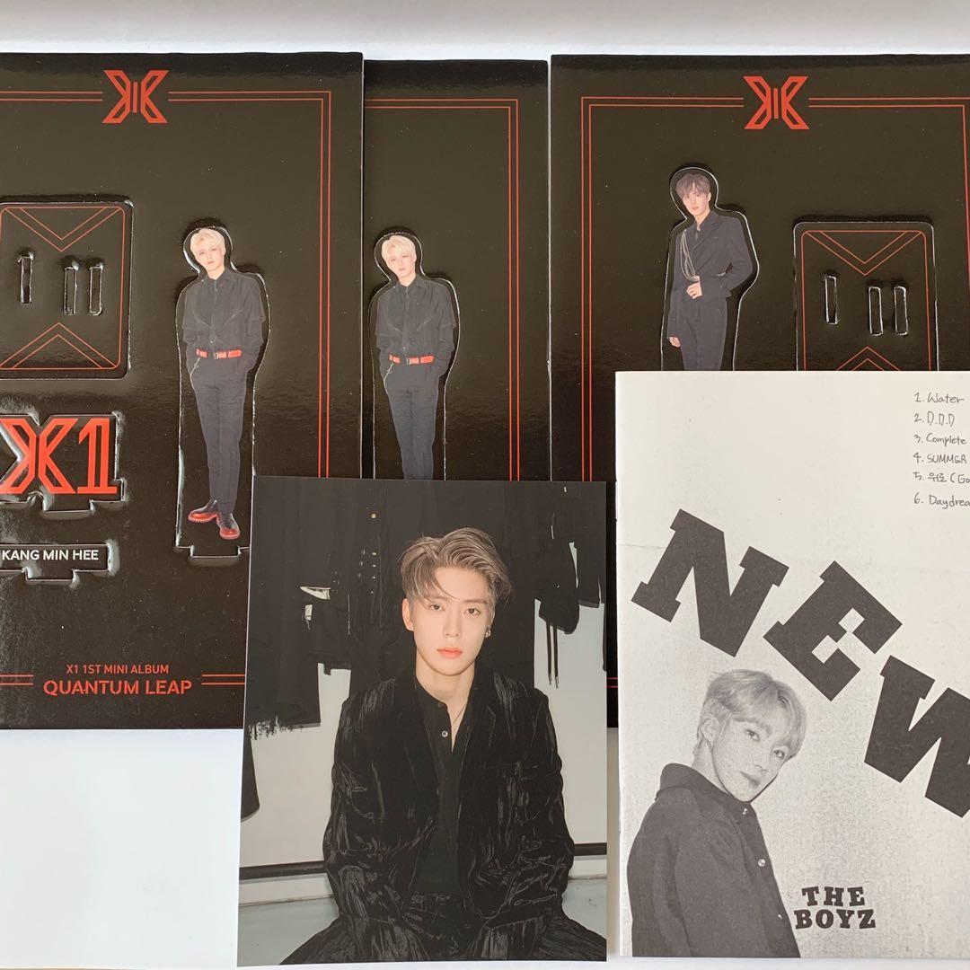 x1 standee nct jaehyun postcard the boyz new photozine clearance