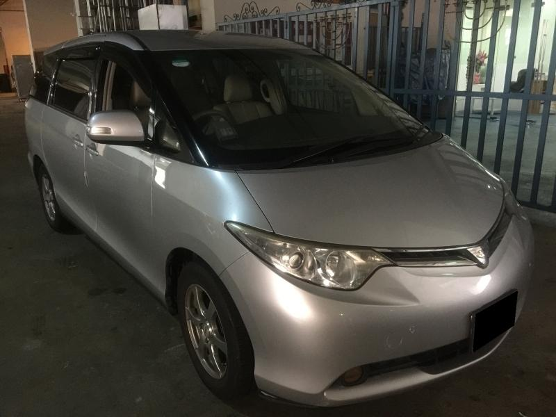 03JAN-06JAN FRI-MON TOYOTA ESTIMA 8 SEATER $360 (FREE PICKUP AT SEMBAWANG MRT)