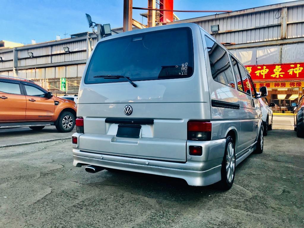 2002 Volkswagen T4 VR6 2.8L VIP極道樣式 超豪華七人座