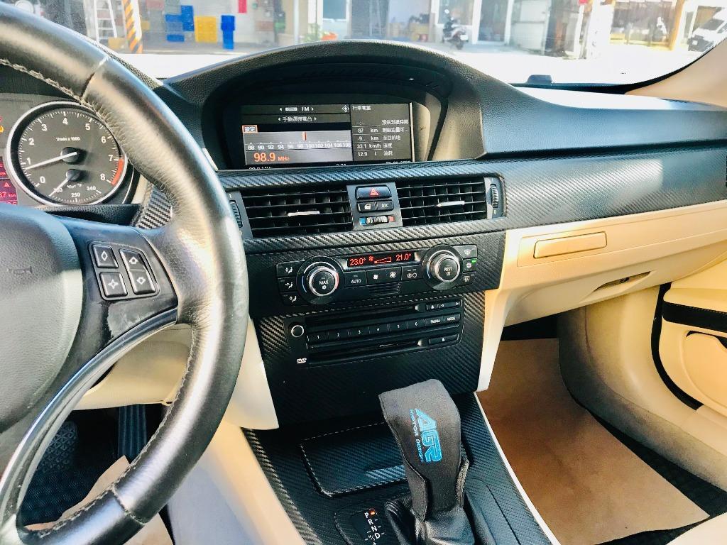 2007 BMW E92 328i 3.0  輕鬆成為白馬王子_3.0L低里程_車況原汁原味照顧佳👍