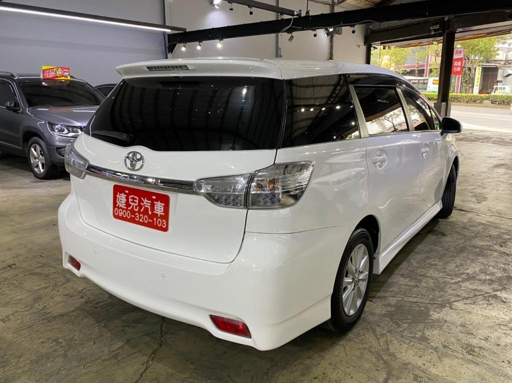 2011年 最新款二代Toyota Wish 2.0E  真心不騙只賣26.8萬