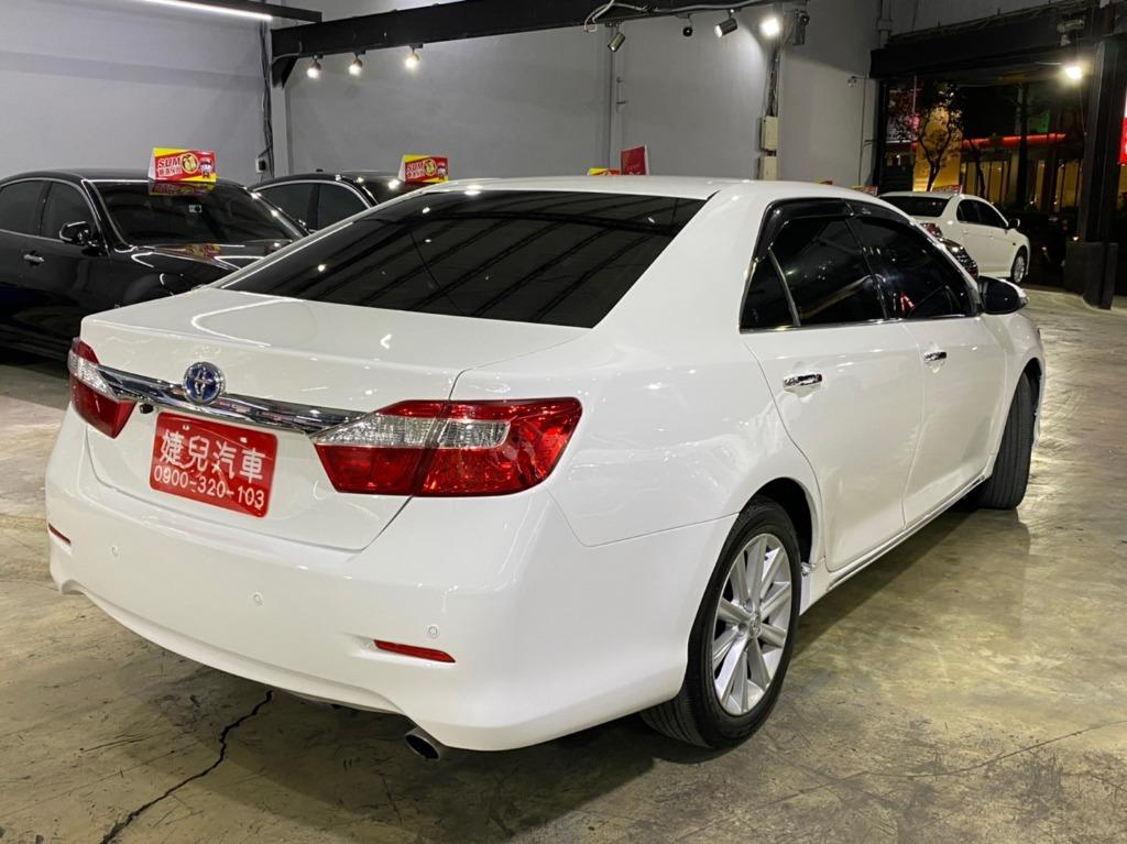 正2012年 新款Toyota Camry Hybrid 2.5油電車  只賣您31.8萬