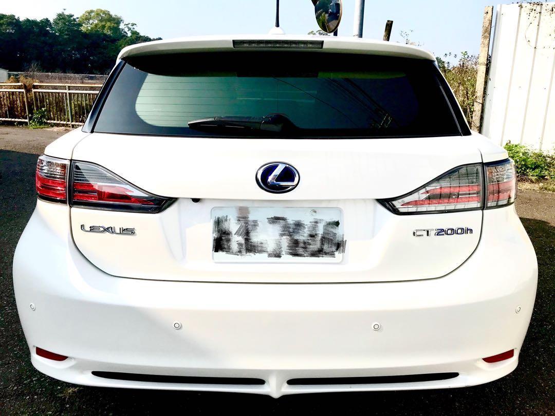 2013年 Lexus CT200h 全車超級漂亮原鈑件里程保證
