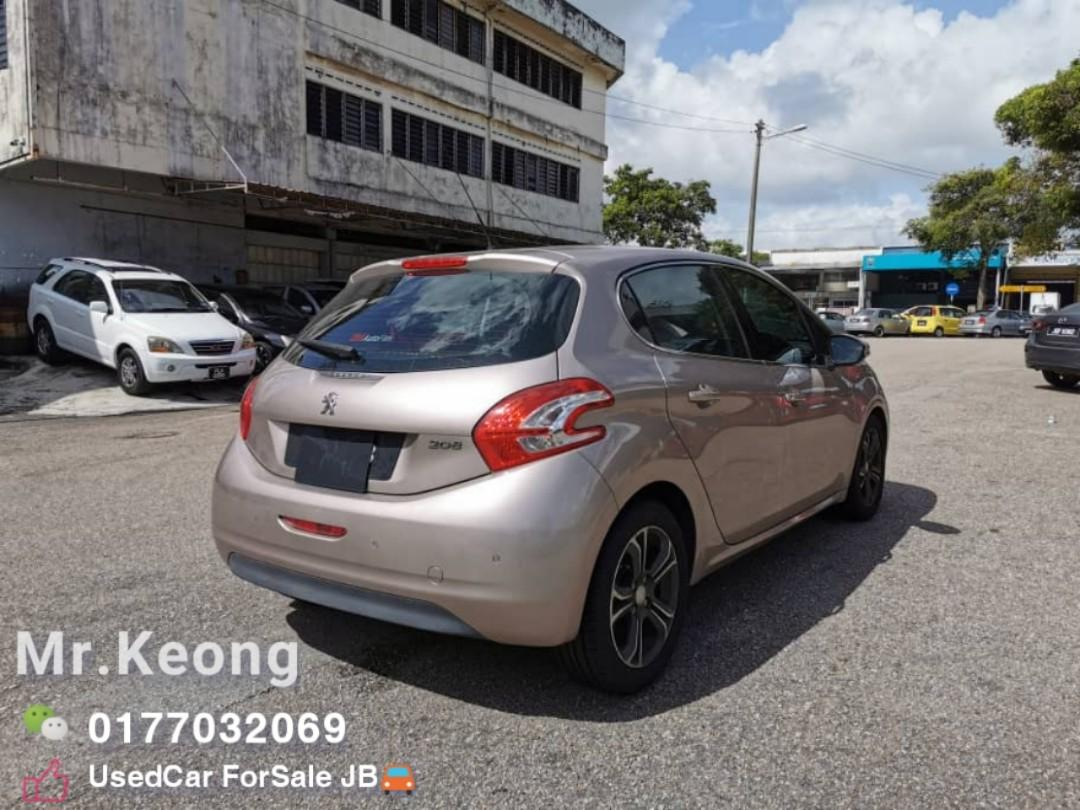 2013TH🚘PEUGEOT 208 1.6AT Low MILEAGE 9XXXXKM Cash💲OfferPrice Rm24,500 Only⚠️LowestPrice🔥InJB Call📲KeongFor More🤗