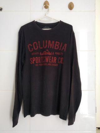 T-shirt Columbia lengan panjang S