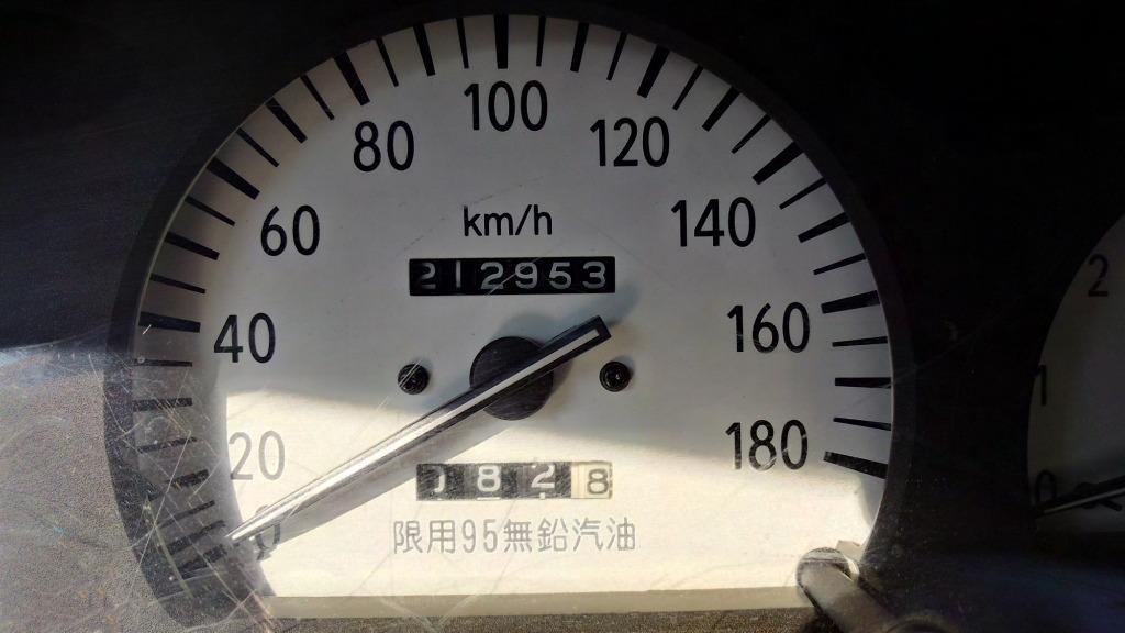 一手代步車 2001年 1.5 銀色 TERCEL 實跑21萬公里 省油好保養放在外面不怕髒的代步車